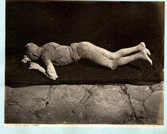 Sommer. Italia, Pompei, Impronte umane     #Europe #Italia #Pompéi_Pompei