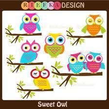 clipart owls reading - Google Search