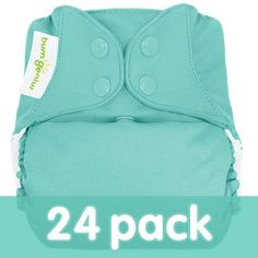 The only diaper you'll ever need - the only one we use!  It was love at first sight for us.  #CottonBabies