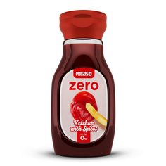 Zero Ketchup With Spices 250 gr Ketchup, Spices, Fat, Bottle, Spice, Flask, Jars