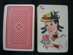 OMG I Remember these exact Old Maid cards