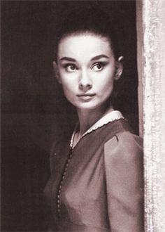 Audrey Hepburn portrait. (Portrait) Date: c.1958.