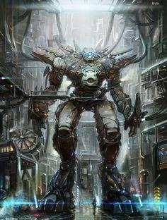 robot by heyixin0122.deviantart.com