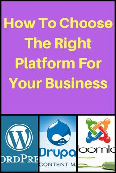 Learn What To Look For When Choosing A Platform For Your Blog/Business Since This Very First Step Is So Important. SAVE THE PIN FOR LATER