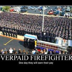 Overpaid Firefighters