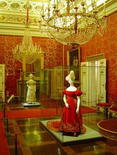 Florence, Italy  Costume Museum  Shown here: XVIIIth century