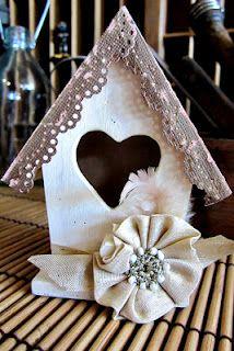 Craft Concepts - Wooden Birdhouses