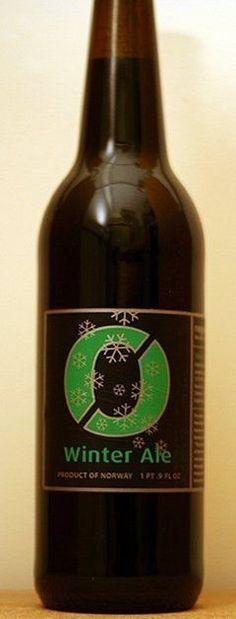Cerveja Nøgne Winter Ale, estilo Porter, produzida por Nøgne ø, Estados Unidos. 8.5% ABV de álcool.