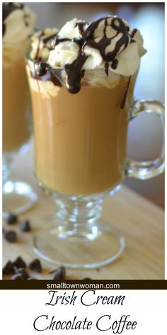 Do you like coffee?  How about Irish Cream?  How about chocolate? Then you are going to love this Irish Cream Chocolate Coffee.  It is a must try for all coffee lovers.