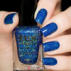 Fun Lacquer Blue Tears Nail Polish (PRE-ORDER | ORDER SHIP DATE: 10/20 | Live Love Polish