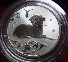 Russia 2 Ruble 2005 Silver Aries