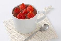 Valentýn recept: Čokoládová pěna
