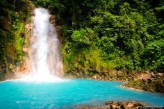 Rio Celeste Waterfall is considered one of the Seven Wonders of Costa Rica. Description from pinterest.com. I searched for this on bing.com/images