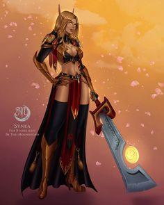 Sexy Blood Elf Paladin