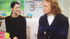 #Outlander #SamHeughan and #CatrionaBalfe Interview on Lorraine