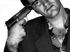 Quentin Tarantino--love his movies!!  This pic pretty much sums up all of his movies LOL