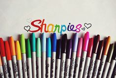 Love me some Sharpies, especially the ultra fine point