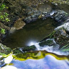 Sometimes I like to stand on the edge of waterfalls and take photos. This one's a bit tricky on the mind!