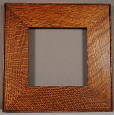 Arts and crafts quarter sawn frame Craftsman Frames, Craftsman Style, Arts And Crafts Interiors, Antique Frames, Frame Crafts, Woodblock Print, Fashion Pictures, Framed Art, Picture Frames