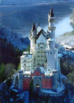 Bavarian Castles   ... MY HOME!: 0012 & 0463 GERMANY (Bavaria) - Royal castle Newschwanstein