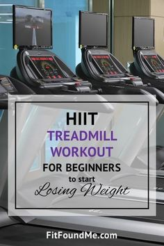 Running for weight loss is a great way to do the necessary cardio. This HIIT treadmill workout for beginners is just what you need to start losing weight. Start Losing Weight, How To Lose Weight Fast, Weight Gain, Body Weight, Weight Lifting, Reduce Weight, Build Muscle Mass, High Intensity Workout, Workout For Beginners