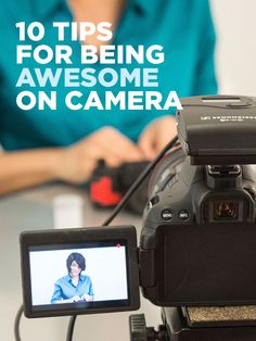 You never know when you'll be on camera! Here are some tips to look and sound great on video.