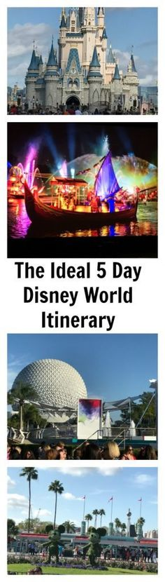 Going to Disney World on a vacation can feel overwhelming to plan. There are so many activities how do you balance your time, while not missing a single activity. Well life and weather happens, so there is no such thing as a foolproof Disney World itinerary but we are sharing an ideal 5 Day Disney …