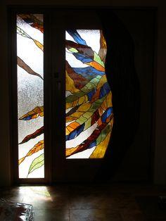 Enrtyway Door and Sidelight in Home