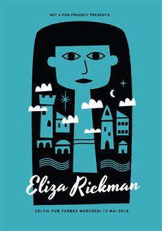 GigPosters.com - Eliza Rickman