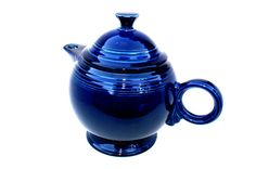 Hey, I found this really awesome Etsy listing at https://www.etsy.com/listing/214086311/cobalt-ceramic-tea-pot-fiesta-tea-pot