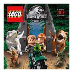 Lego Jurassic World 2019 Calendar Trends International 9781438867410 Books PDF World Calendar, 2019 Calendar, Jurassic World Dinosaurs, Jurassic Park World, Legos, Creative Teaching Press, Popular Toys, Lego Figures, Forest Stewardship Council