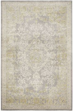 Safavieh Passion X Rectangle Synthetic Power Loomed Contemporary Grey / Green Home Decor Rugs Area Rugs Classic Rugs, Modern Classic, Green Home Decor, Polypropylene Rugs, Latest Colour, Old World Style, Contemporary Area Rugs, Power Loom, Colorful Rugs