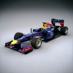 F1 2013 Red Bull RB9 - Infiniti Red Bull Racing 3D model.  A lovely one, huh?