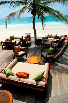 La Zebra- Tulum Mexico Hotel Cabanas Beach Suites! Beautiful! Loved it here! #Mexico