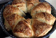 10 1 töltött kelt tészta sósan Bagel, Bread, Dishes, Hot, Desk, Desktop, Brot, Tablewares, Table Desk