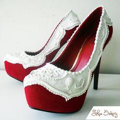 shoebakery...red velvet heels