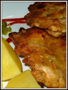 No Salt Recipes, Pork Recipes, Cooking Recipes, Czech Recipes, Stuffed Hot Peppers, Food 52, Good Food, Food And Drink, Main Dishes