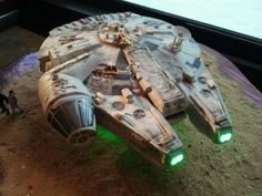 Millennium Falcon by The Buttery End Cakery