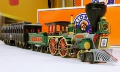 Lincoln Funeral Train by Lionel