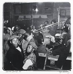 Jürgen Schadeberg: Sophiatown Dance hall 1951 - use music and lifestyle to teach about an era.