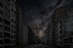 Darkened Cities by Thierry Cohen