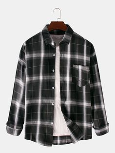 Kpop Fashion Outfits, Tomboy Fashion, Edgy Outfits, Camisa Floral, Smart Casual Men, Baggy Clothes, Fandom Outfits, Long Sleeve Shirts, Long Shirts