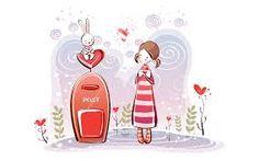valentine illustration - Google 検索