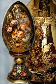 Porcelana Vs Bone China Vs Stoneware id: 7793858438 Egg Crafts, Faberge Eggs, Egg Art, Russian Art, Egg Decorating, Beautiful Paintings, Easter Eggs, Glass Art, Decoupage