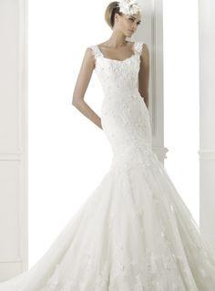 Pronovias Wedding Dresses Pre-2015 Collection Part III. To see more: http://www.modwedding.com/2014/06/12/pronovias-wedding-dresses-2015-part-3/ #wedding #weddings