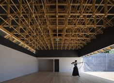 Building of the Year Sports Architecture: Archery Hall & Boxing Club / FT Architects Architecture Durable, Detail Architecture, Timber Architecture, Japanese Architecture, Contemporary Architecture, Ancient Architecture, Sustainable Architecture, Landscape Architecture, Boxing Club