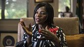 South African Public Protector Thuli Madonsela speaks during an interview with AFP about her fight against corruption, the South African Constitution and her plans after her mandate as the Public Protector, on November 4, 2015, at the Public Protector House in Pretoria