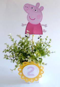 Peppa Pig Birthday Invitation as adorable invitation design