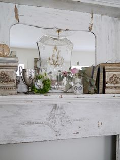 Chateau Chic: A Cottage Living Room