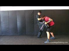 Krav Maga - Knee Strike (Details to Maximize Power) - YouTube